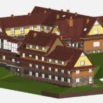 Hotel – restauracja, rozpoczęta inwestycja w Bieszczadach