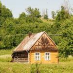 Dom drewniany w Komańczy