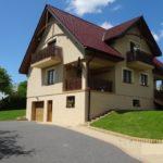 Komfortowy dom jednorodzinny położony w miejscowości k/ Sanoka