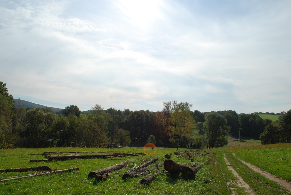 Działki budowlane w Lalinie k/Sanoka